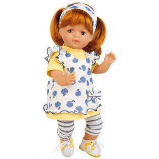 Schildkrot Strampelchen 2020 Baby Doll Red Hair 37cm