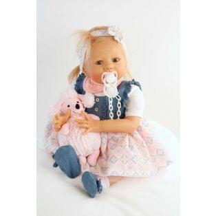 Schildkrot Baby Doll Pina by Karola Wegerich 52cm alternate image