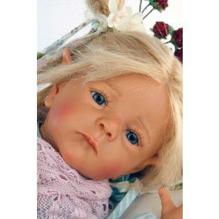 Schildkrot Baby Doll Elfiene by Karola Wegerich 52cm alternate image