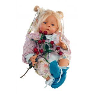 Schildkrot Baby Doll Elfiene by Karola Wegerich 52cm