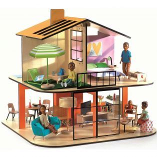Djeco Dolls' House - Colour House