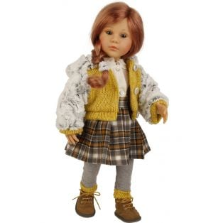 Schildkrot Isi Legler Redhead Doll With 50cm