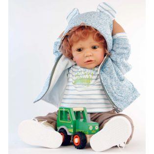 Schildkrot Louis Legler Toddler Boy Doll 60cm