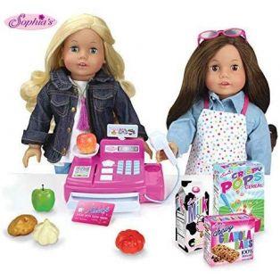 Sophia's Doll Size 21 Piece Cash Register Pay Set alternate image