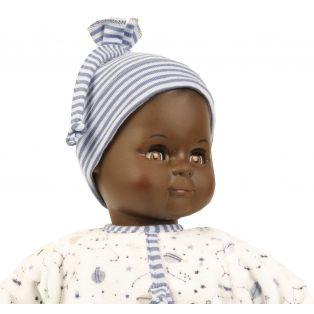 Schildkrot Schlummerle Sonny Black African Brown Vinyl Baby Doll 32cm  alternate image