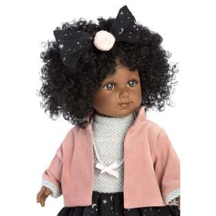 Llorens Zuri 35cm Toddler Doll Black African Doll alternate image