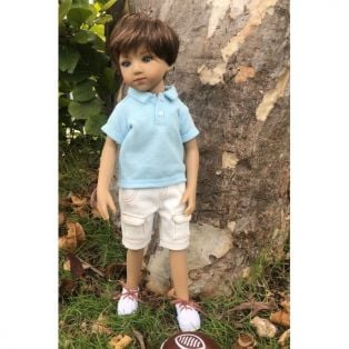 Maru & Friends Mini Pal Boy Doll Outift Summer Fun 33cm