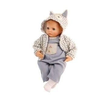 Schildkrot Peterle Sleepy Eye Large Baby Boy Doll 52cm