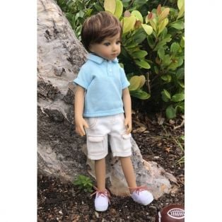 Maru & Friends Mini Pal Boy Doll Outift Summer Fun 33cm alternate image