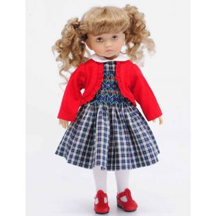 BONEKA Tuesday's Child Alina GREEN EYES 25cm Doll alternate image
