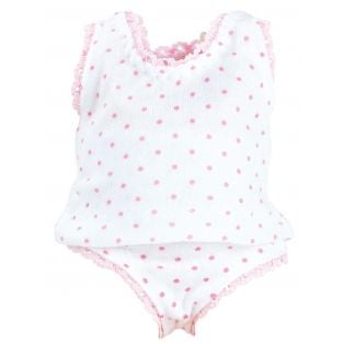 Petitcollin Underwear with Dots to fit Petit Calin, Calinette and Caline 28cm Dolls