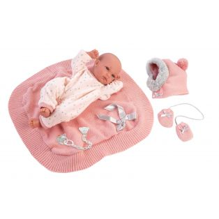 Llorens Newborn Baby Girl Doll Anatomically Correct Soft Touch Vinyl 35cm alternate image