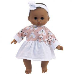 Petitcollin Petit Calin Mayalys Black Baby Doll 28cm / 11