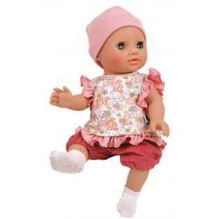 Schildkrot Bath Baby Sunny Blue Sleepy Eyes Doll 30cm