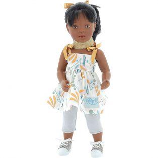 Petitcollin Minouche Roxane Black Doll 34cm