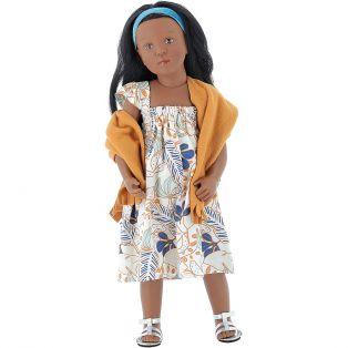 Petitcollin Finouche Candice Black Doll 48cm