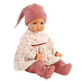 Schildkrot Schlenkerle Baby Doll In Stripes 37cm