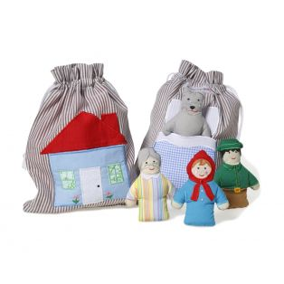Oskar & Ellen Little Red Riding Hood Story Bag