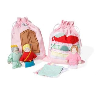 Oskar & Ellen Princess And The Pea Story Bag