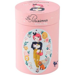 Moulin Roty Constance Doll Jigsaw Puzzle, Les Parisiennes, 65 Pieces