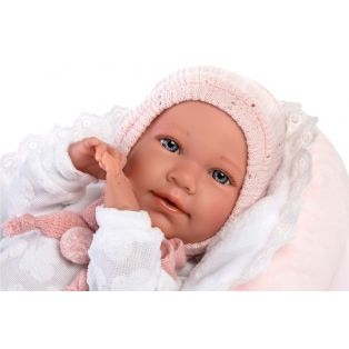 Llorens Baby Girl Doll Mimi With Cocoon, 42cm alternate image