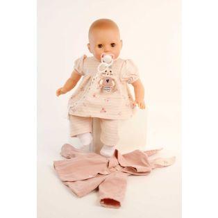Schildkrot Sleepy Eye Amy Doll & Dummy In Pink Hood 45cm alternate image