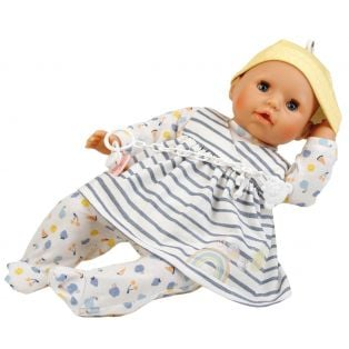 Schildkrot Clothes for doll 45 cm Hanni / Susi / Amy in Striped alternate image