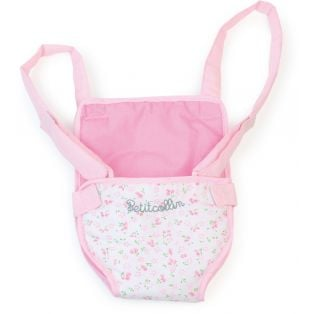 Baby Doll Carrier in Pink and White fits dolls up to 36cm alternate image
