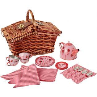 Egmont Toys Tin Tea Set Ladybug in a Basket alternate image