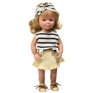 D'Nenes Marieta Doll (Riviera - Blonde) 36cm