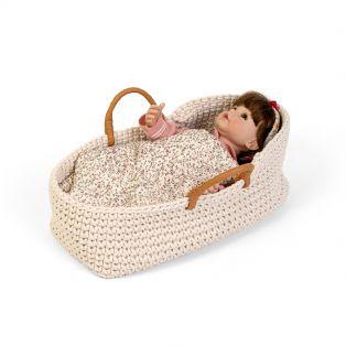Astrup Knitted Doll Basket 35cm alternate image