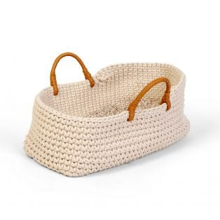 Astrup Knitted Doll Basket 35cm
