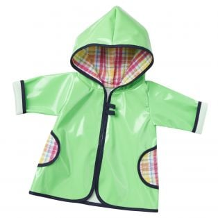 Dog Walking Raincoat! (Green) 45-50cm