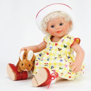Baby OLA by Rosemarie Muller - Artist Wichtel Doll, 22cm
