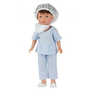 Frontline Workers Nurse Boy Doll Albert, 28cm