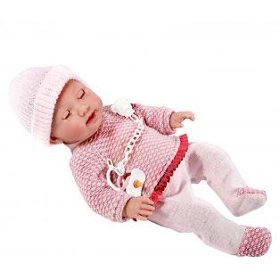Vestida de Azul Baby Doll Alba Closing Eyes 38cm