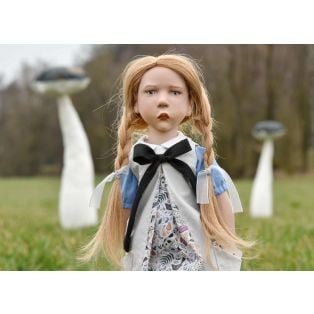 Zwergnase Junior Doll 2020, Alice In Wonderland L/E 50 Dolls, 50cm alternate image
