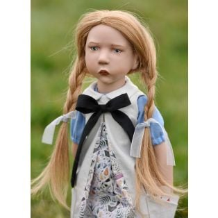 Zwergnase Junior Doll 2020, Alice In Wonderland L/E 50 Dolls, 50cm