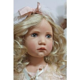 Hildegard Gunzel Artist Resin Doll Bettina  2015 83cm 32.5