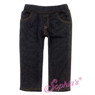 Sophia's Best Dark Denim Jeans (Black)