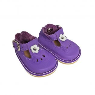 Wagner Doll Shoes Group 4 Style Tiny Blossom - PURPLE