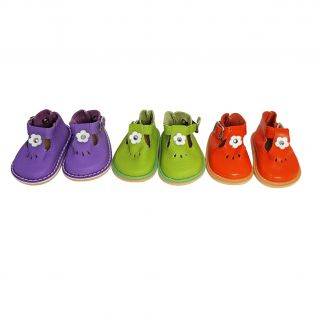 Wagner Doll Shoes Group 4 Style Tiny Blossom - PURPLE alternate image