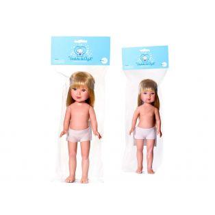 Vestida de Azul Carlota Blonde Undressed Doll 28cm alternate image