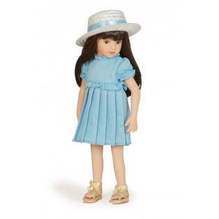 Maru & Friends Mini Pal Bunny Fun Blue Dress Outfit 33cm