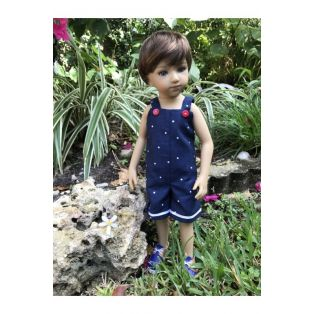 Maru & Friends Mini Pal Boy Doll Outift Button Cute 33cm alternate image