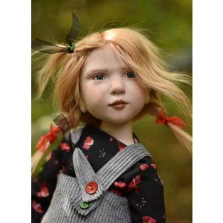 Zwergnase Art Doll 2021, Capucine Limited Edition 35 Dolls, 75cm