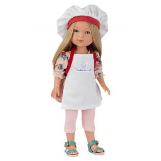Frontline Workers Hospital Catering Chef Blonde Doll, 28cm