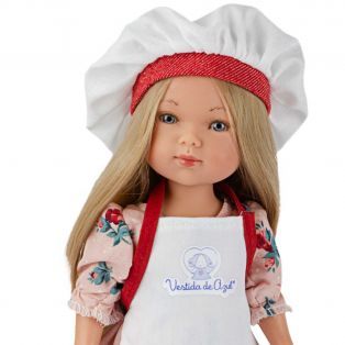 Frontline Workers Hospital Catering Chef Blonde Doll, 28cm  alternate image