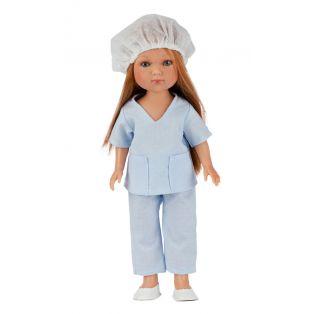 Frontline Workers Carlota Redhead Nurse Doll, 28cm