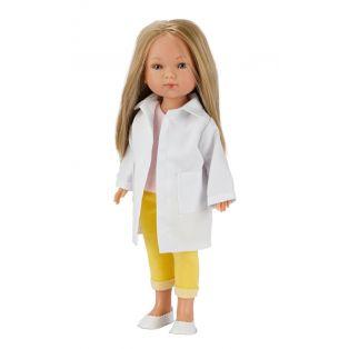 Frontline Workers Carlota Blonde Doctor Medic Doll, 28cm